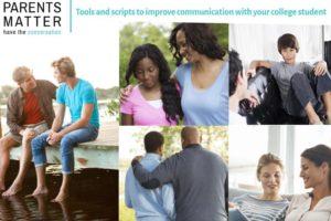 College Parents Matter: Have the Conversation