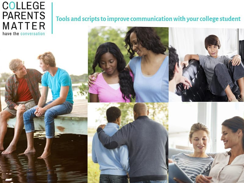College Parents Matter: Have the Conversation