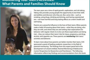 Monitoring Your Teen's Activities: What Parents and Families Should Know