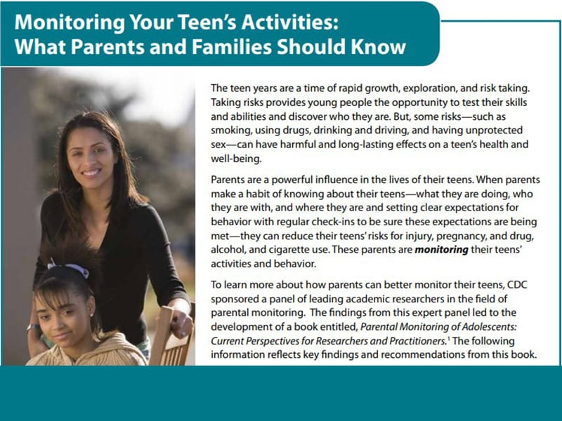 Monitoring Your Teen