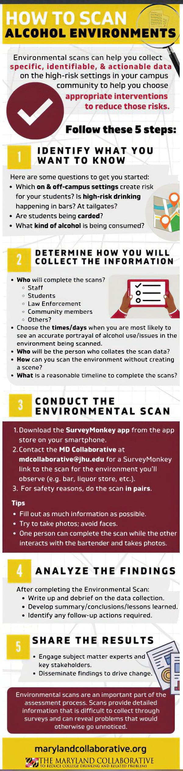 Environmental Scan Infographic